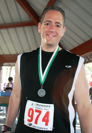 Me and my silver medal.